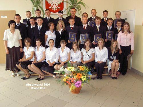 Absolwenci 2007 - III A
