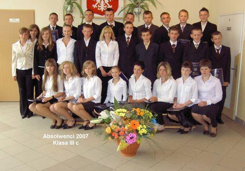 Absolwenci 2007 - III C